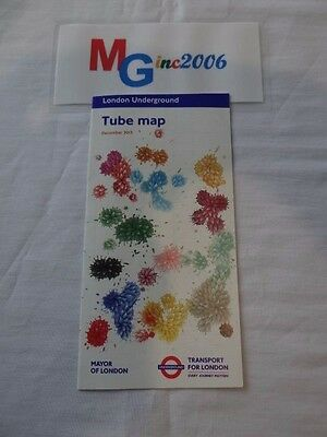 London Underground Tube Map Open-Out December 2013