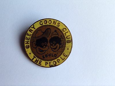 Very Rare People Newspaper Cheery Coons Childrens Club Badge - circa 1930s