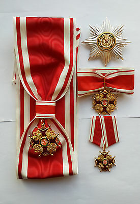 ORDER of St. Stanislaus 1st. 2st. 3st class Imperial House of Romanov
