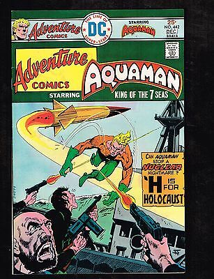 """Adventure Comics #442 ~ """"H Is For Holocaust"""" ~ (9.2) 1975 WH"""