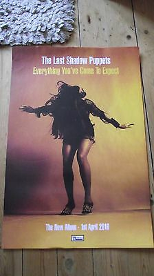Last Of The Shadow Puppets - Everything You've Come To Expect Promo poster -mint