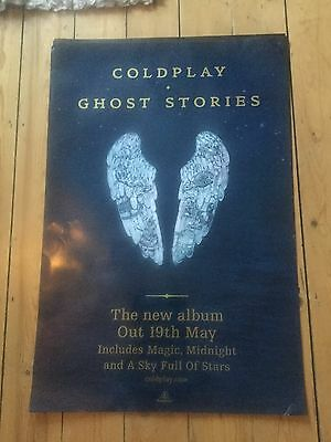 Coldplay - Ghost Stories Promo poster -mint
