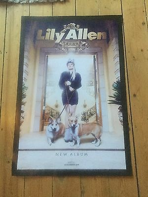 Lilly Allen - Sheezus Promo poster -mint