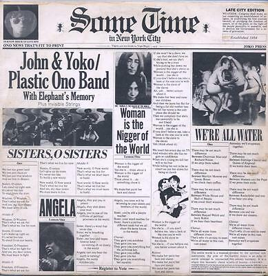 "John Lennon And Yoko Ono - Some Time In New York City - 12"" Vinyl Lp (Double)"