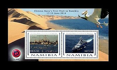 Namibia 2014 Visit by Chinese Navy MS. MNH