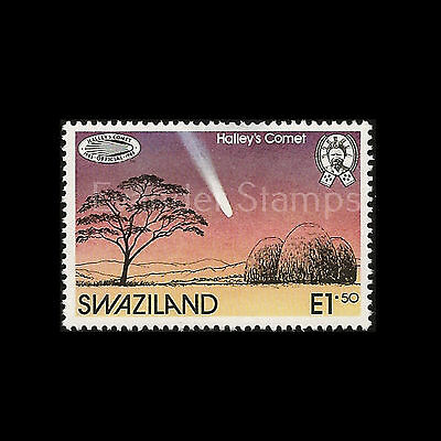 Swaziland 1986 Appearance of Halley's Comet. MNH