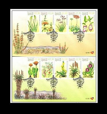South Africa 2000 Medicinal Plants 2 x FDC