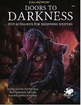 Call of Cthulhu 7th Edition RPG Doors to Darkness - Horror RPG - H P Lovecraft
