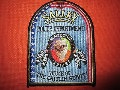 Collectible South Carolina Police Patch Salley New