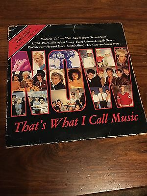 Now That's What I Call Music No.1 Double Vinyl LP Virgin/EMI Label NOW1