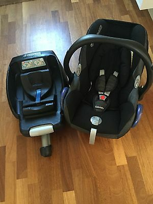 Maxi-Cosi CabrioFix Baby Car Seat And Maxi-Cosi Easy Base 2