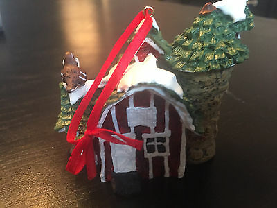 "1996 Sparrowsville""The Hayloft"" Collectible Ornament"