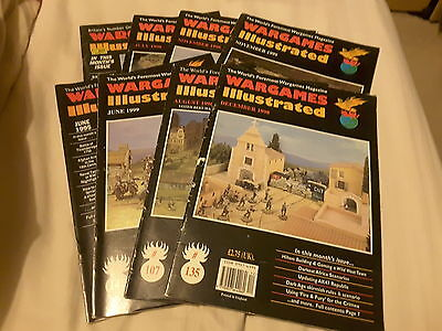 8 Issues of Wargames Illustrated