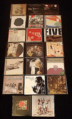 Lotto 20 CD KRAFTWERK NICO STEREOLAB TALKING HEADS JOHN CAGE coil sonic youth