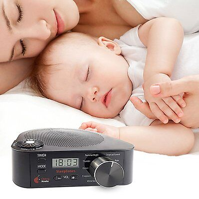 Cherry Koala Sleep Tones Sound Therapy Machine, You & Baby can Relax and Rest