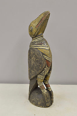 Statue Bird Papua New Guinea Wood Subut Creation Myth Bird