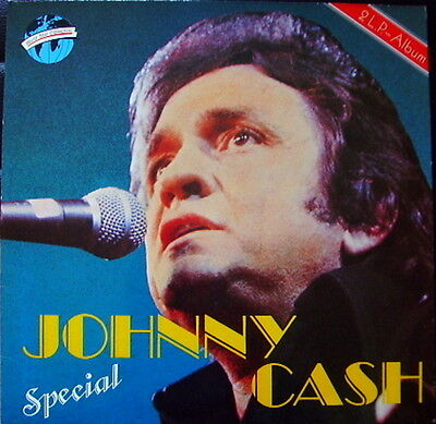 Johnny Cash Special NEAR MINT world star collection 2xVinyl LP