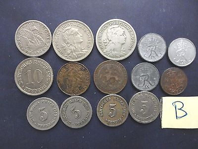 Coin Lot,great Vintage Coins,germany,netherlands,portugal,denmark.
