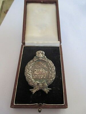 Tank Badge of the Imperial Army WW 1 in original case