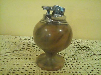 Vintage marble style table lighter