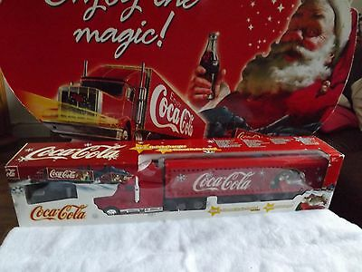 Dickie Spielzeug 2 Channel Radio Control Coca Cola Christmas Truck New In Box