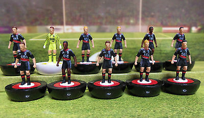 Subbuteo Team Nottingham Forest 2nd kit 2016-17 Hand Painted