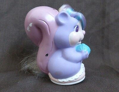 Vintage Tonka Keepers Baby Squirrel Figurine - 80's toy like My Little Pony