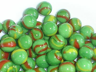 25 x 16mm FIESTA GLASS MARBLES  game play solitaire party bags