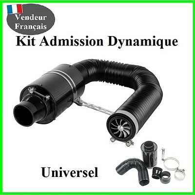 Kit Admission Dynamique Direct Universel Boite a Air Carbone Filtre,Racing,Sport