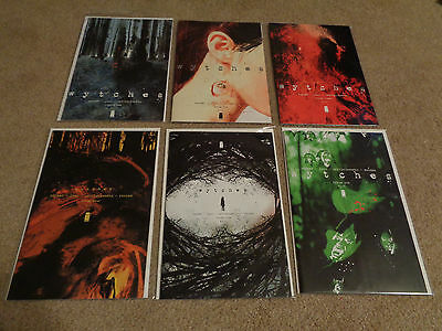 Wytches issues #1, #2, #3, #4, #5, and #6 Image Comics