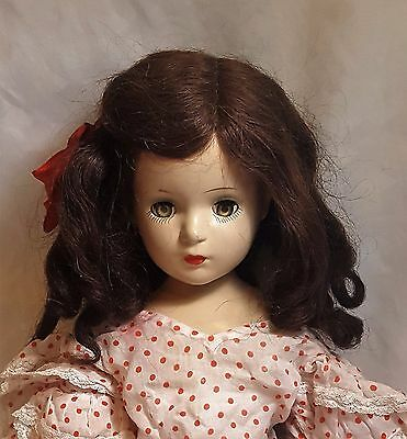 "Madame Alexander 1930s  vintage Wendy Ann Composition 21"" doll needs TLC"