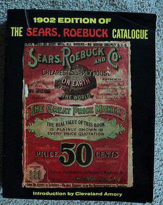 VINTAGE 1902 Edition of the Sears Roebuck and Co. Catalogue 1969 Reprint