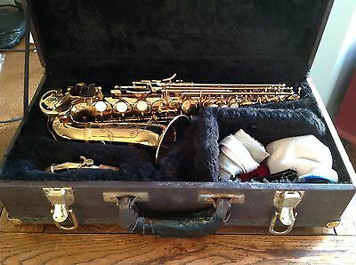 Soprano Sax Curved Blessing Elkhart