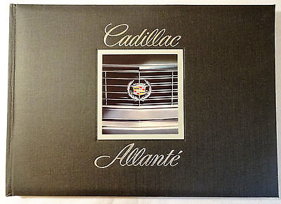 1986 Cadillac Allante by Pininfarina Original Introduction Hardbound Press Kit