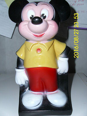 Vintage Walt Disney Plastic Mickey Mouse Bank bank giveaway