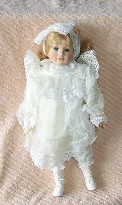 """Collector Edition 16"""" Gail Porcelain Doll In Box"""