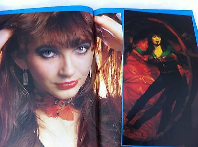 Kate Bush - Look In magazine 4 Page Feature