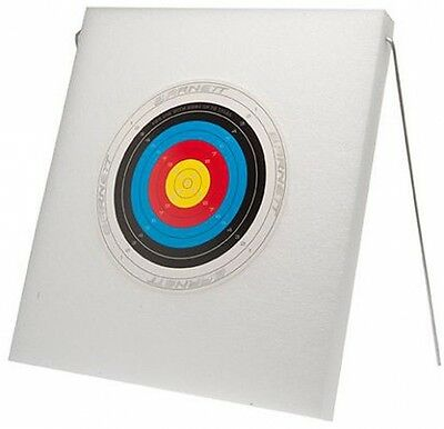 Bow and Arrow Crossbow Canvas with Metal Standup Bullseye Junior Archery Target