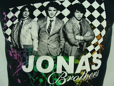 Jonas Brothers 2008 Concert Tour T-Shirt Youth Size Medium