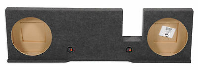 """Dual 12"""" Subwoofer Sub Box Enclosure For 2004-2008 Ford F150 Xcab or SuperCrew"""