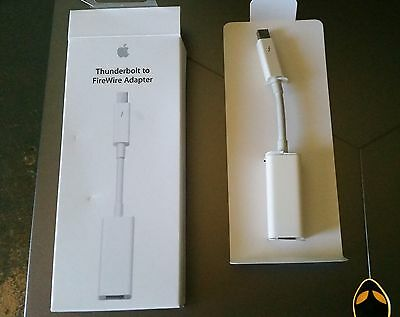 Apple Firewire to Thunderbolt adapter