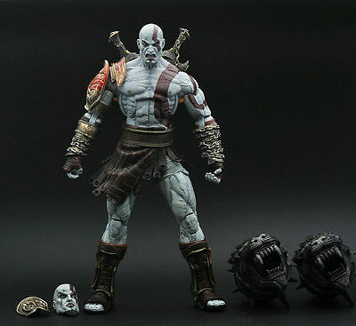 """God Of War III 3 Kratos Ghost Of Sparta Figure Sealed 7"""" Loose toy Figure ZX437"""