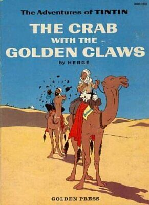 The Crab with the Golden Claws (The Adventures of Tintin) by Herge Paperback The