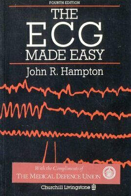 The ECG Made Easy Paperback Book The Cheap Fast Free Post