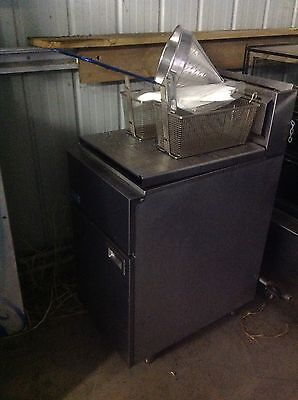 Gas Max : Free Standing Double Deep Fryer