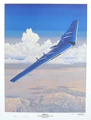 YB-49 Flying Wing Max Stanley Signed Muroc Chuck Yeager Scott Crossfield XB-35