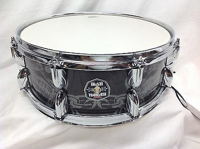 "Premier Drums 'Iron Maiden' Series 14"" X 5.5"" Snare Drum/Rare EDDIE Model!/New"