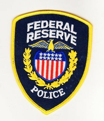 Police Patch Us Federal Reserve