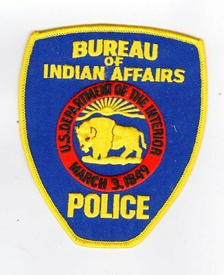 Police Patch Bureau Of Indian Affairs Department Of The Interior