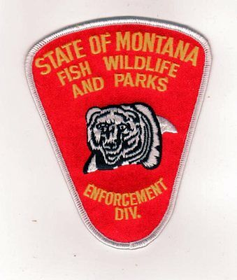 Montana Police Patch State Fish Wildlife And Parks Enforcement Division